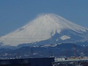 藤沢からの富士山